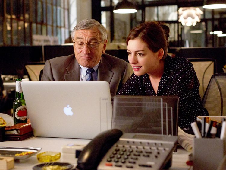 Fotogramma da The intern - di Nancy Meyers