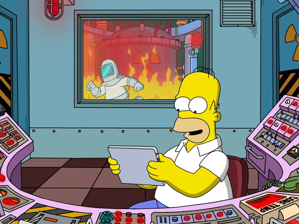 Fotogramma da The Simpsons - di Matt Groening
